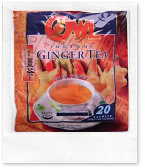 Owl Instant Ginger Tea